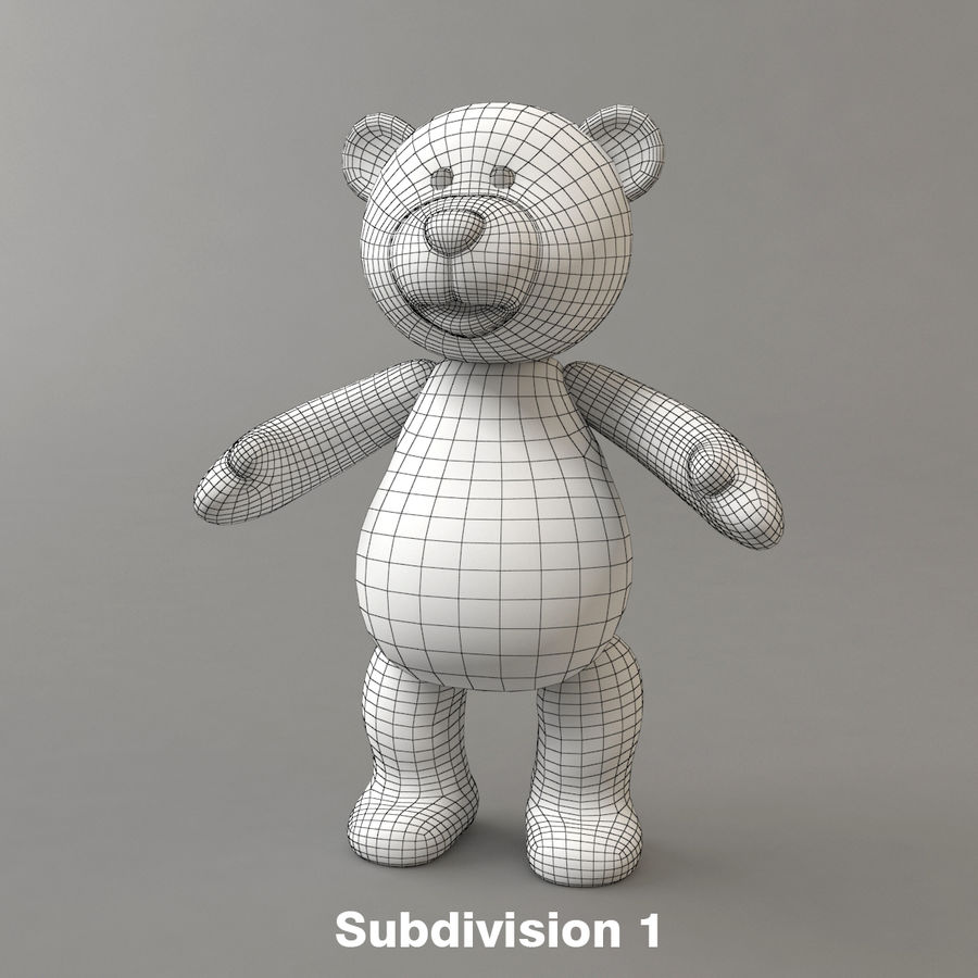 Niedźwiedź royalty-free 3d model - Preview no. 8