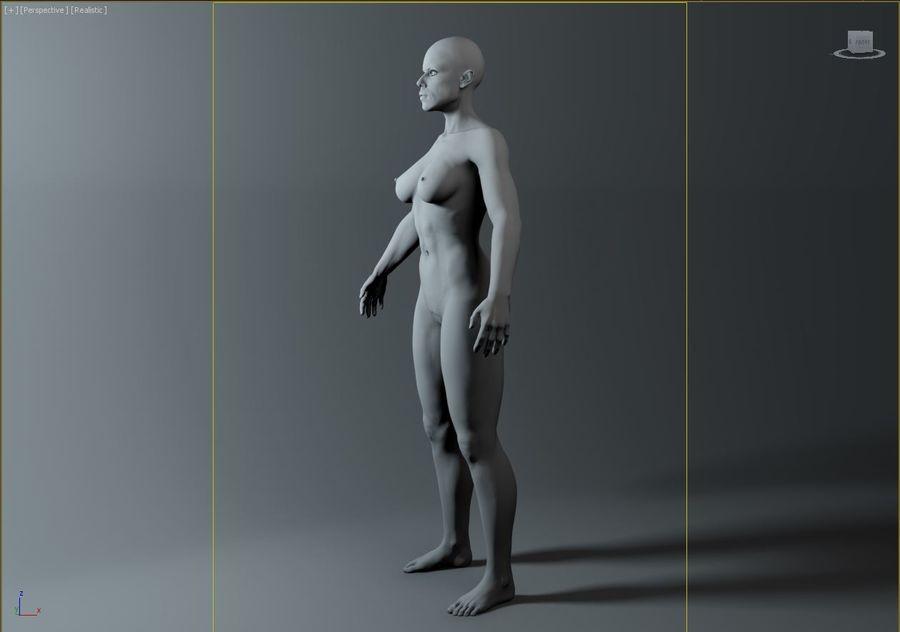 женщина royalty-free 3d model - Preview no. 14