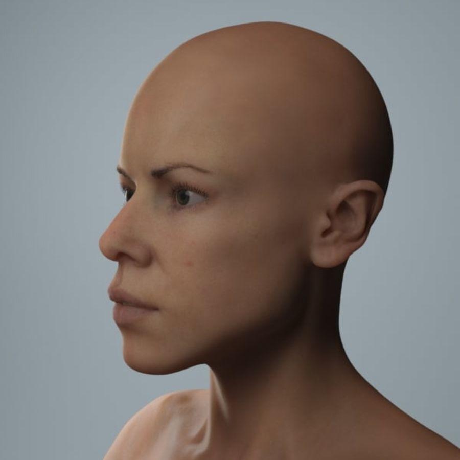 женщина royalty-free 3d model - Preview no. 3