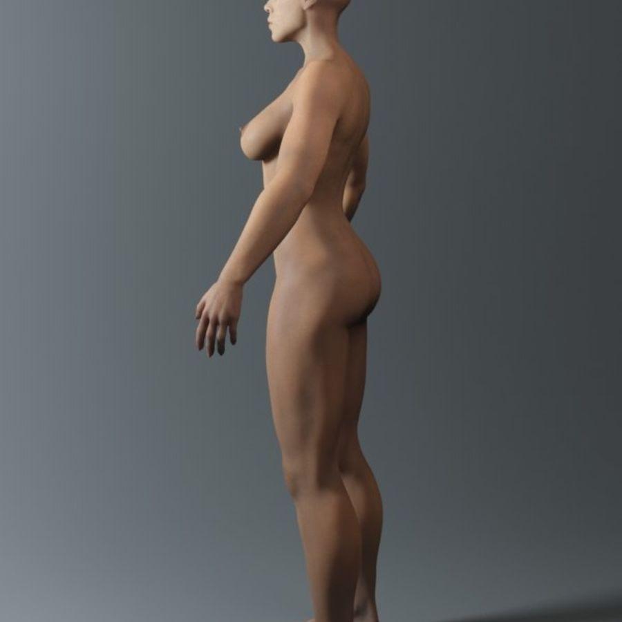 женщина royalty-free 3d model - Preview no. 9