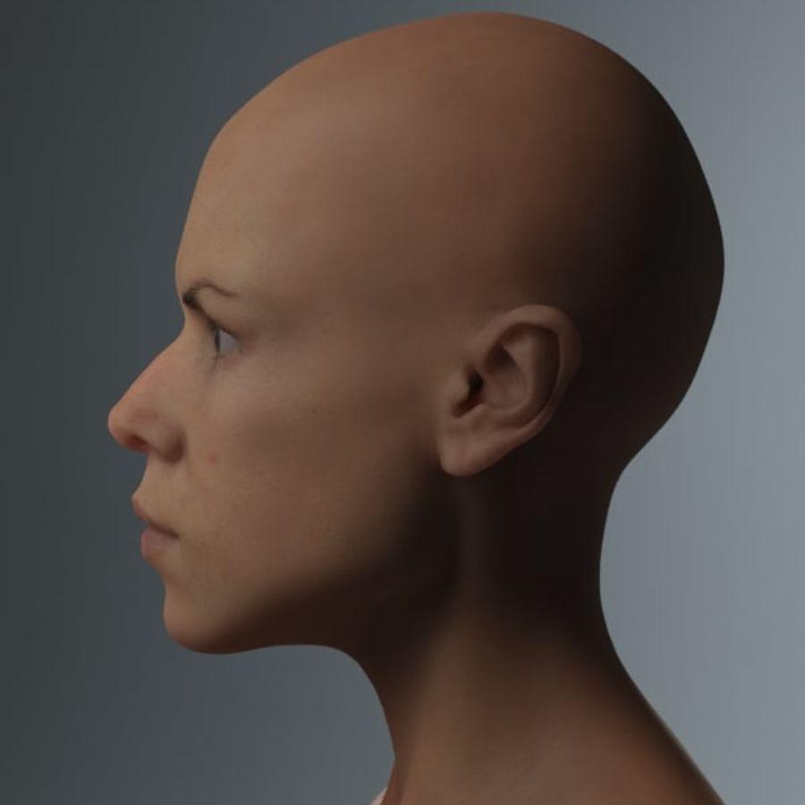 женщина royalty-free 3d model - Preview no. 4