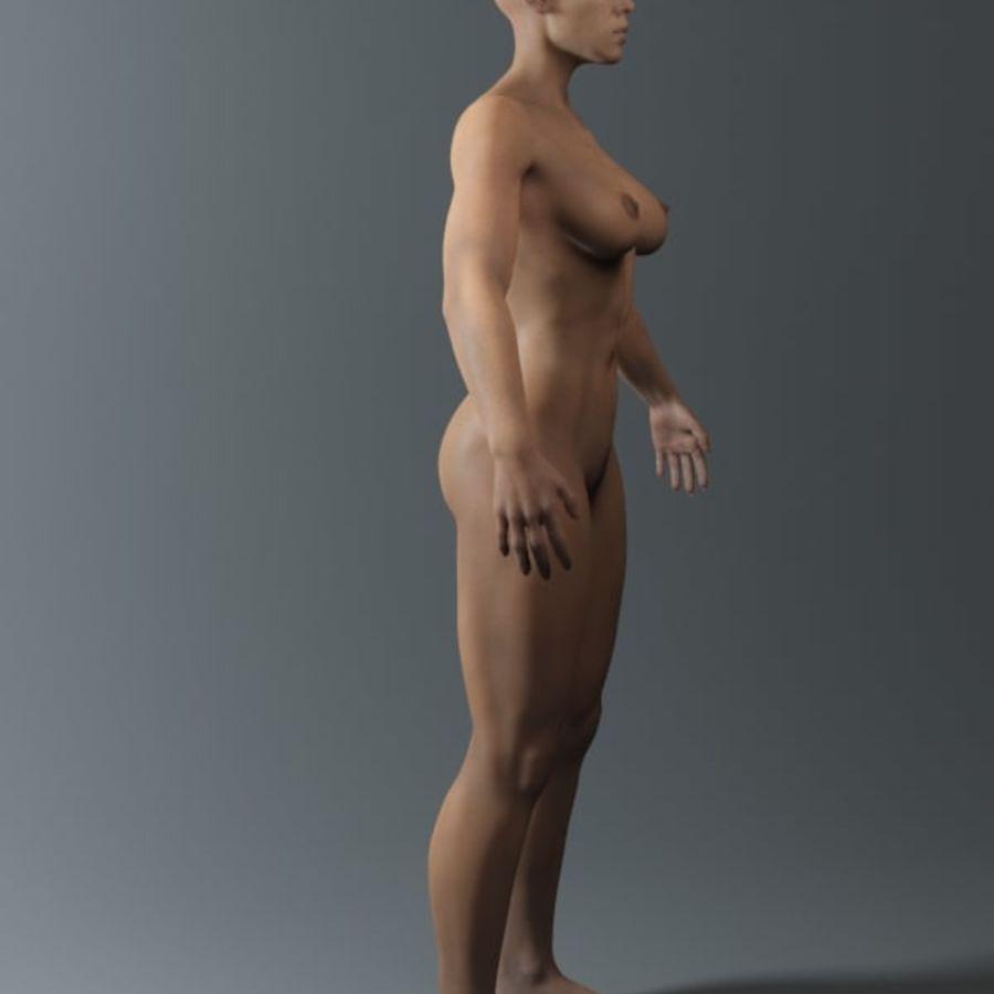 женщина royalty-free 3d model - Preview no. 12