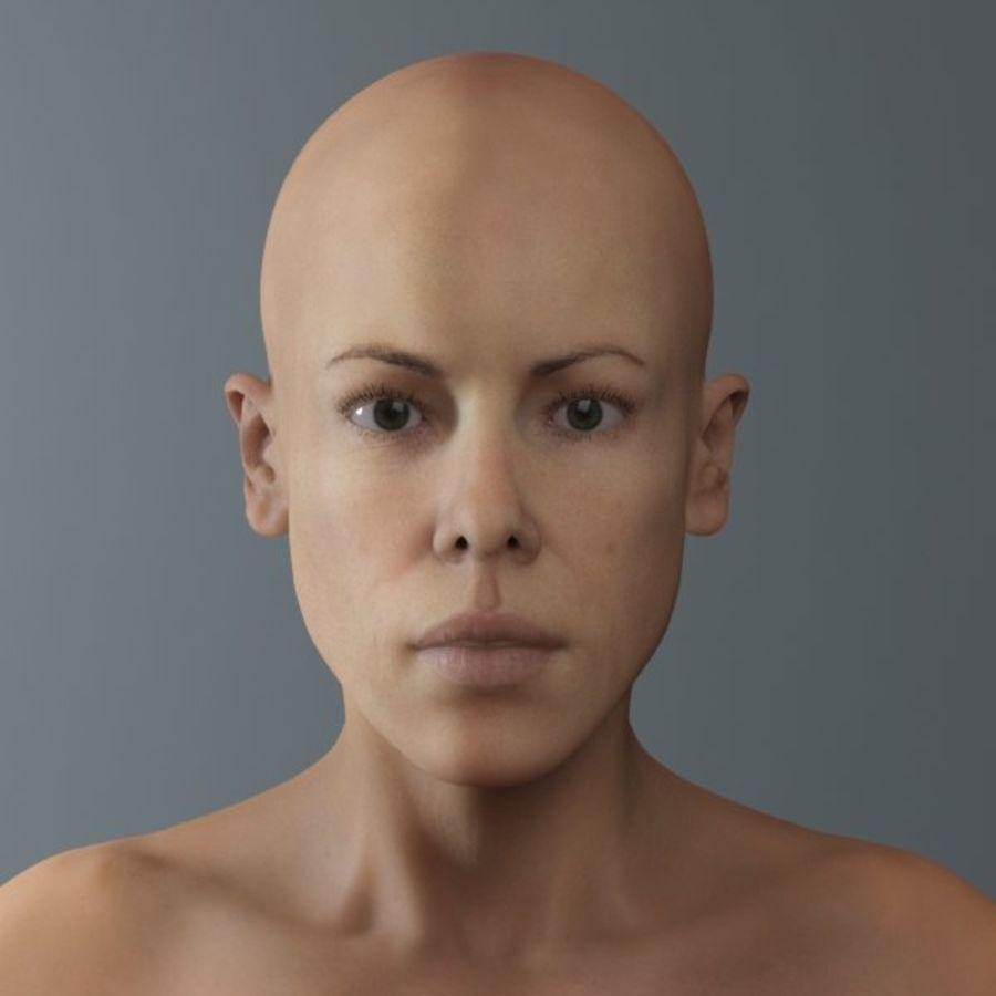 женщина royalty-free 3d model - Preview no. 2
