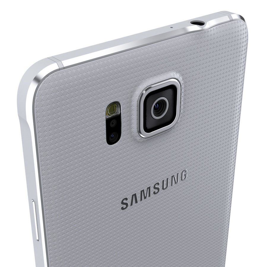 Samsung GALAXY Alpha royalty-free 3d model - Preview no. 33