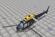 Eurocopter Squirrel 3d model
