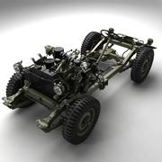 Армия США Willys Jeep 3d model