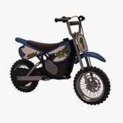 Bicicleta electrica modelo 3d