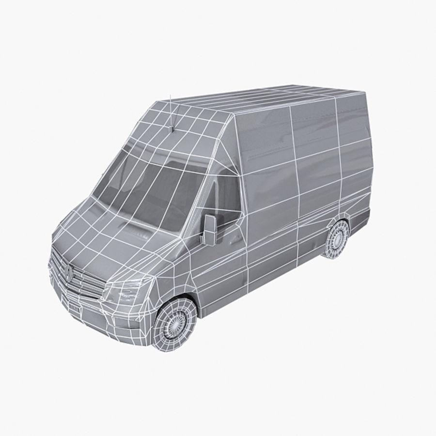 Vehículo destrozado royalty-free modelo 3d - Preview no. 6