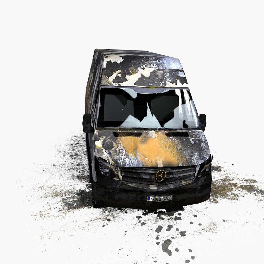 Vehículo destrozado royalty-free modelo 3d - Preview no. 5