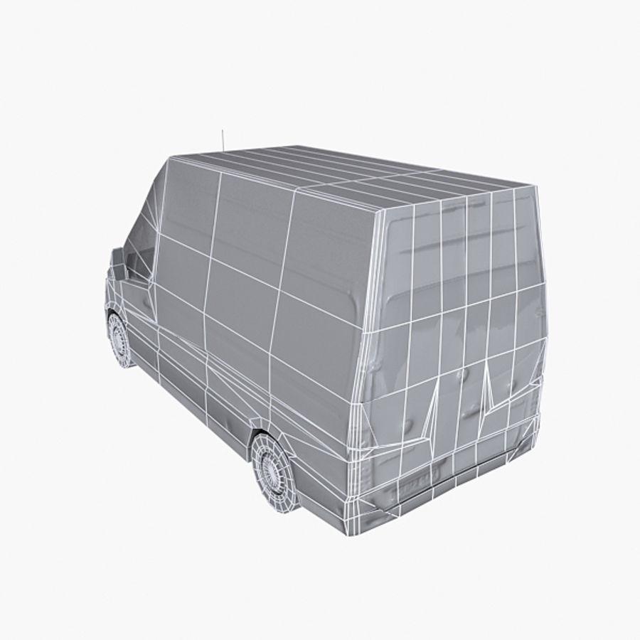 Vehículo destrozado royalty-free modelo 3d - Preview no. 7