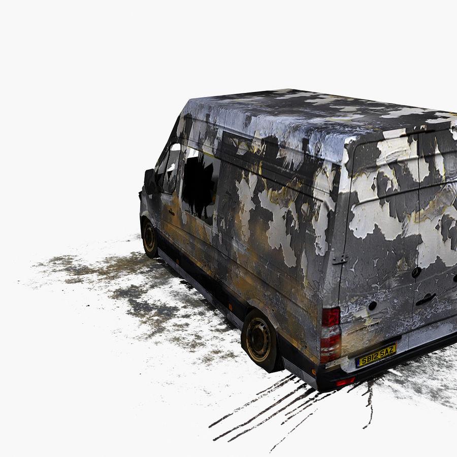 Vehículo destrozado royalty-free modelo 3d - Preview no. 9