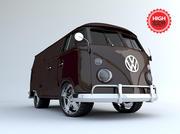 Van Custom 3d model