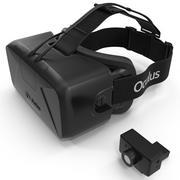 Oculus Rift Dev Kit 2 3d model