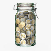 Money Jar 3d model