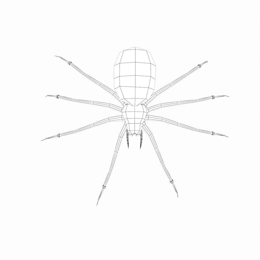 거미 royalty-free 3d model - Preview no. 3
