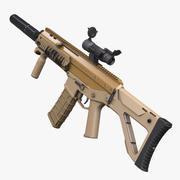 ACR Rifle HP 3d model