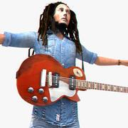 Bob Marley 3d model