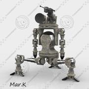 escoteiro robô 3d model