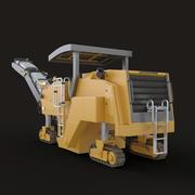 Pavement Milling Machine 3d model
