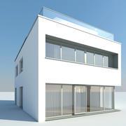 Haus modern 3d model