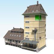 Entrepôt 3d model