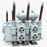 Power Transformer 2 3d model
