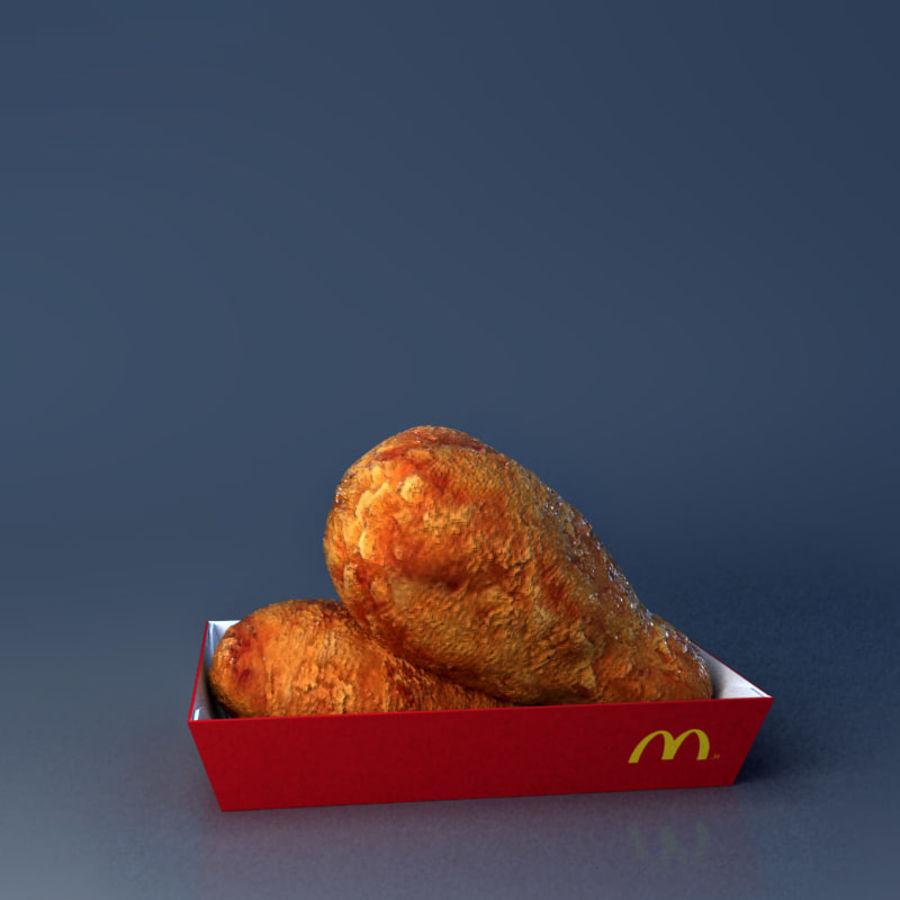 McDonald mellanmål royalty-free 3d model - Preview no. 6