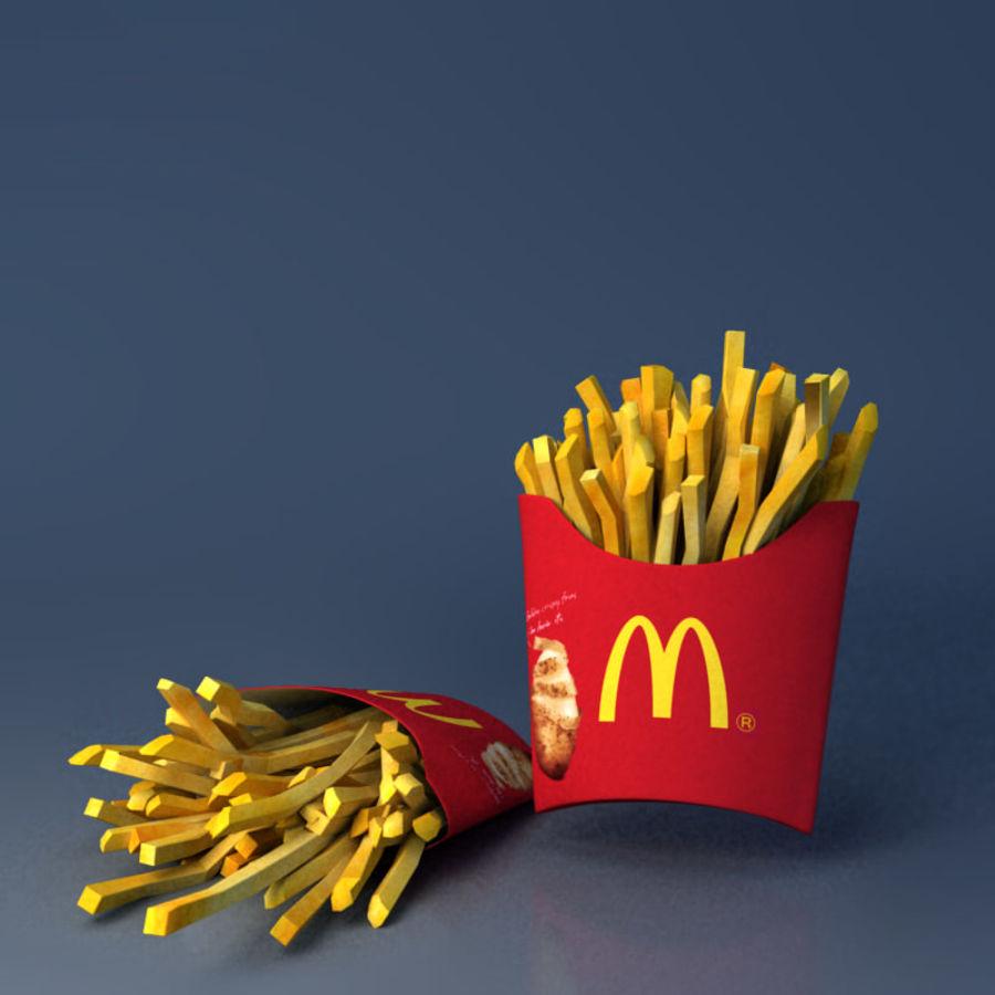 McDonald mellanmål royalty-free 3d model - Preview no. 4