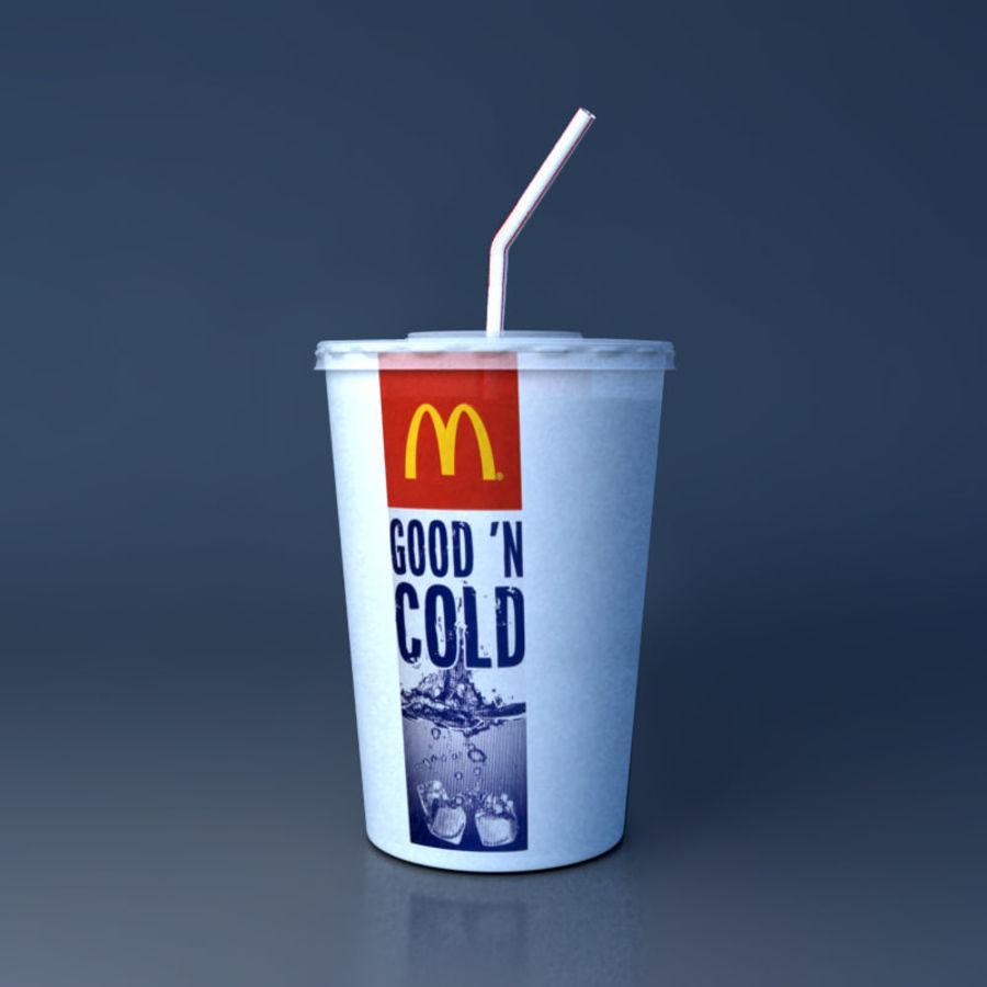McDonald mellanmål royalty-free 3d model - Preview no. 3