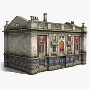 Casa de 3 plantas 01 modelo 3d