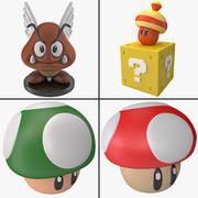 Super Mario World Spielzeugsammlung 3d model