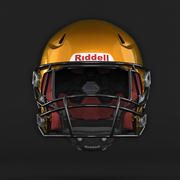 Riddell 360橄榄球头盔 3d model