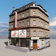 Block Building 04 3d model