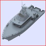 Lansera båten 3d model