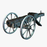 Cannon Medieval Big 3d model