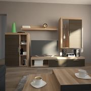 Pokój dzienny (1) 3d model