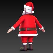 Santa Claus No Rig 3d model