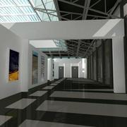Galeria Sztuk Pięknych 3d model