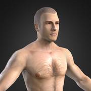 Postać dla MMORPG (europejskie męskie ciało) 3d model