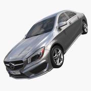 2015 Mercedes Benz CLA 3d model