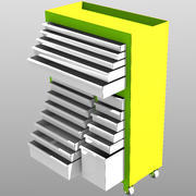 Ağır Depolama 3d model