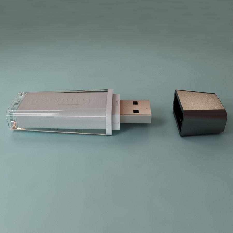 USB sürücüsü royalty-free 3d model - Preview no. 2