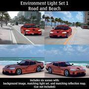 Environment Light Set 1 (for Poser) 3d model