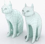 고양이 3d model