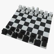Xadrez (Bauhaus) 3d model