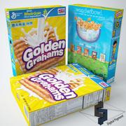 Golden Grahams spannmål 3d model