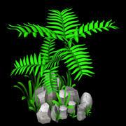 small bush tree 3d model