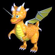 dragon model 3d model