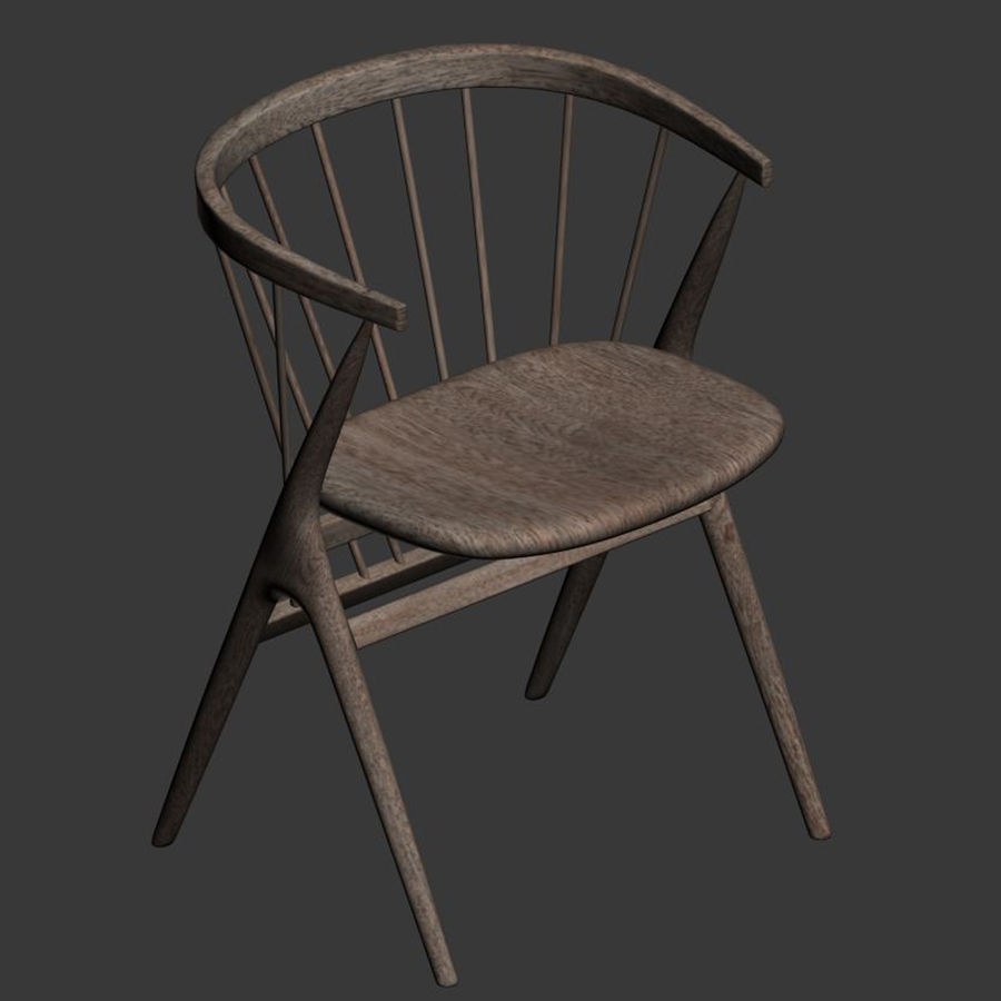 Sibast Furniture Chair royalty-free 3d model - Preview no. 4