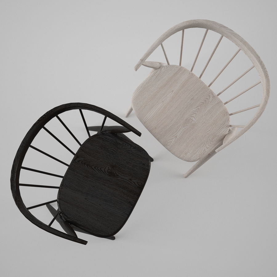 Sibast Furniture Chair royalty-free 3d model - Preview no. 2